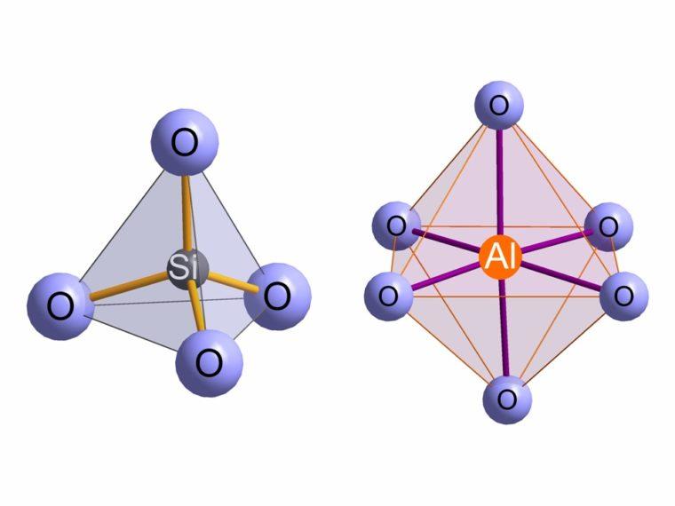 si-tetraeder-al-oktaeder