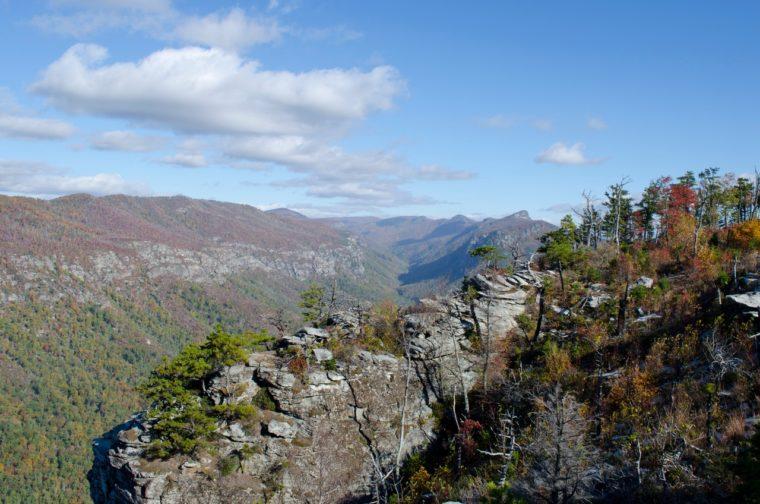 kerbtal-linville-gorge-talformen