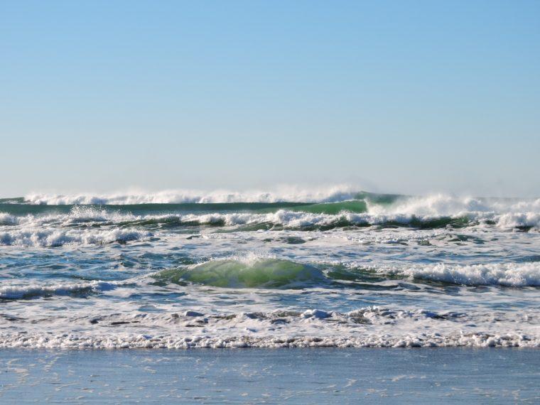 Litorale Formung - Wellen und Gezeiten